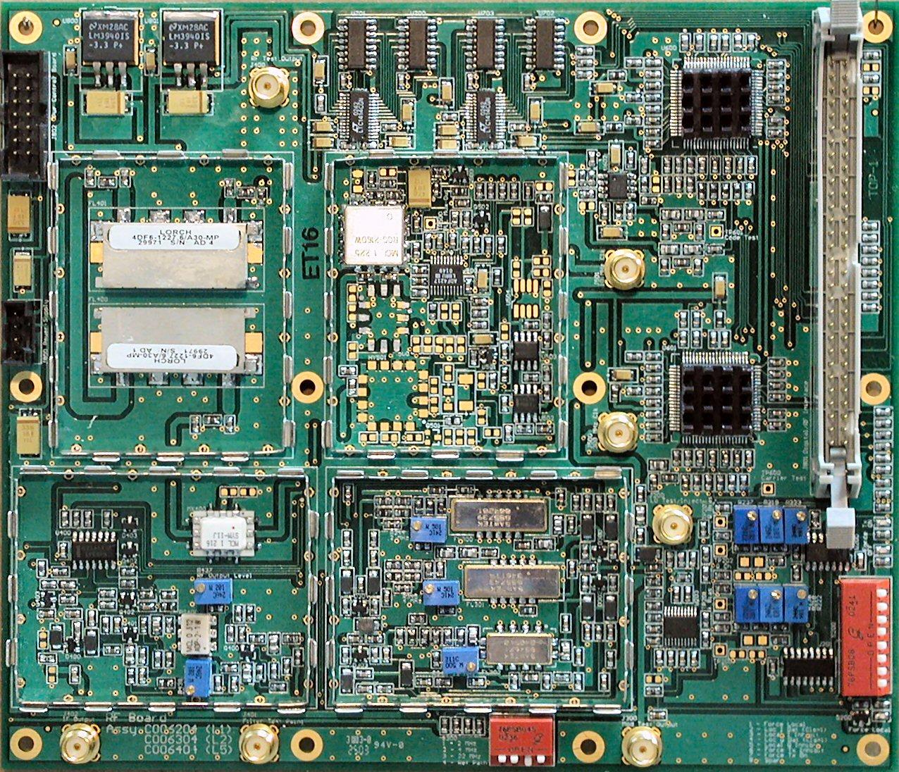RF Board (L2 version - shields removed)